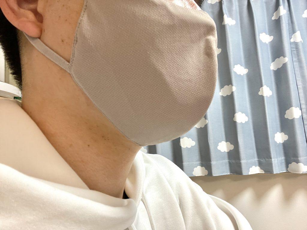 マスク xl ユニクロ 【UNIQLO】エアリズムマスクXLサイズ感